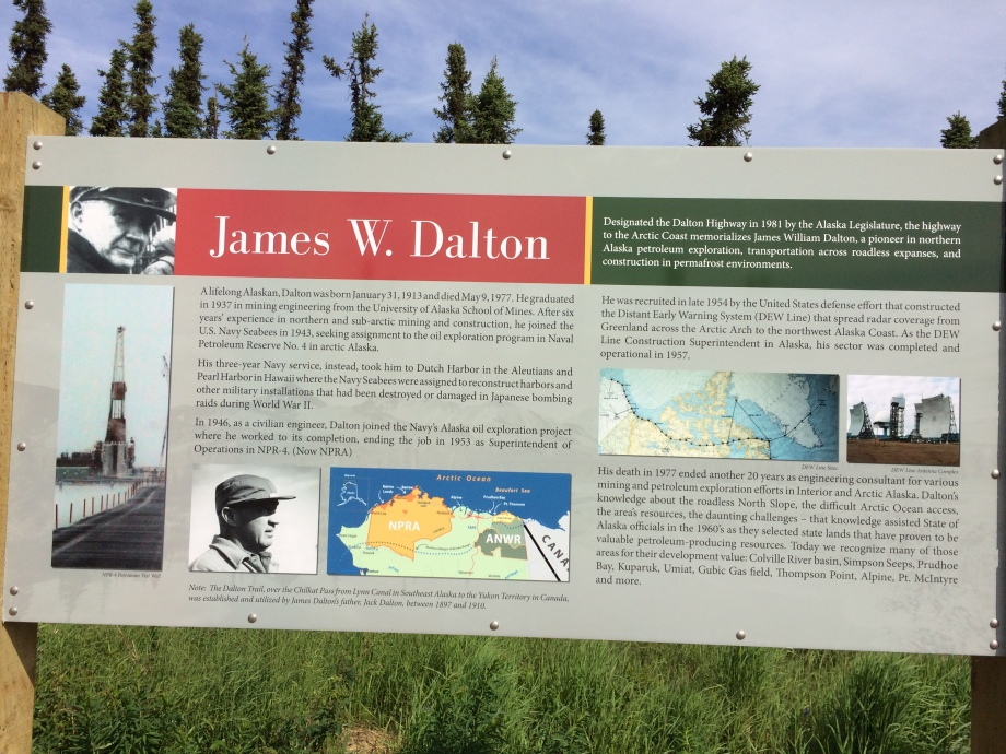 Dalton Highway Sign Summer 2019